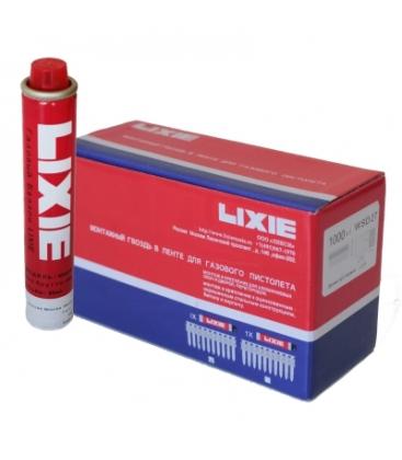 Дюбель-гвозди LIXIE усиленные с насечкой (K) по бетону, металлу, кирпичу и газовый баллон