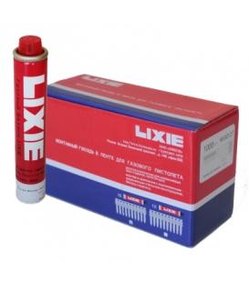 Дюбель-гвозди LIXIE усиленные по бетону, металлу, кирпичу и газ. баллон